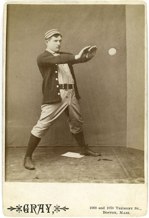 19th-century baseball player Jack Clements, who played for the Philadephia Quakers/Phillies for mot of his career